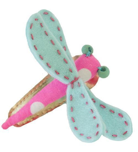 Everbloom Dragonfly Clip Clips OS Hot Pink