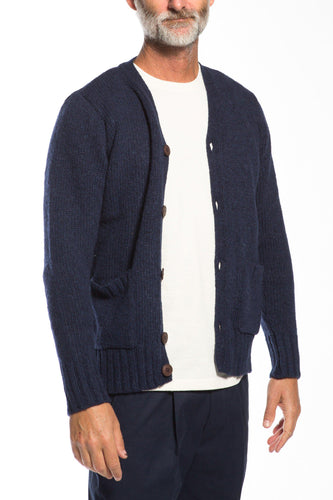 Far Afield-Buckley Cardigan-S-Blue Graphite-BUHO