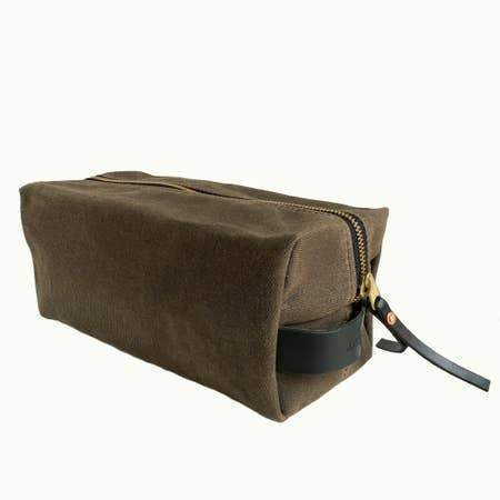 Hudson Made Cotton Twill Dopp Kits Dopp Kits Title