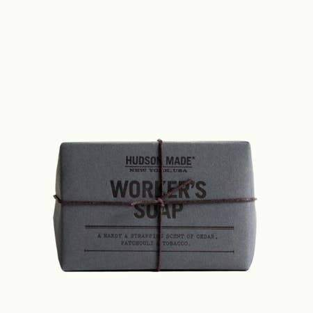 Hudson Made Worker's Soap Soap Title