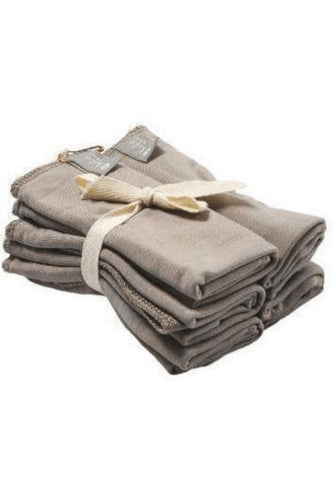 Kyte Baby Washcloth 5-Pack in Clay Towels