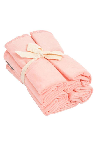 Kyte Baby Washcloth 5-Pack in Peach Towels