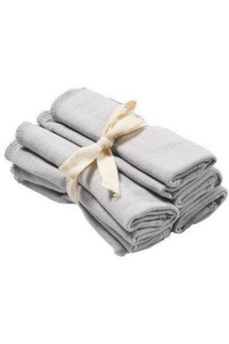 Kyte Baby Washcloth 5-Pack in Storm Towels