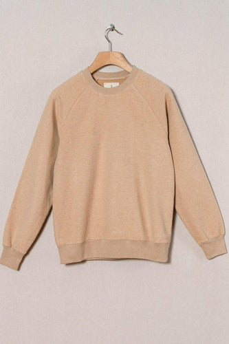 La Paz-Cunha Camel Fleece Sweatshirt-S-Camel Fleece-BUHO