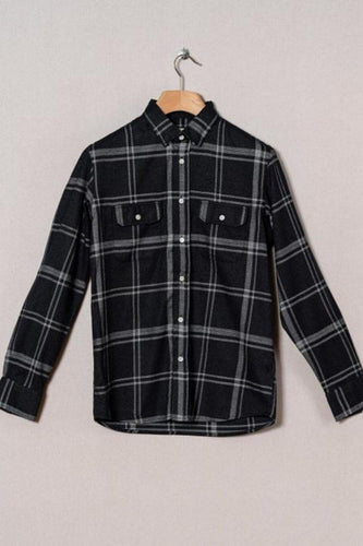 La Paz-Pacheco Black Checks-S-Black Checks-BUHO