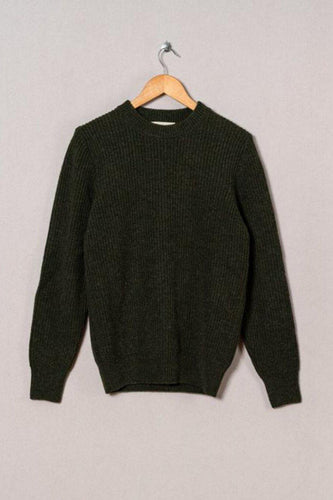 La Paz-Teixiera Crewneck Sweater-S-Military Green-BUHO
