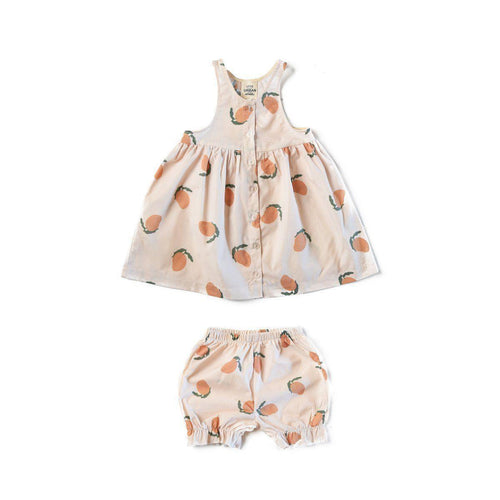 Little Urban Apparel Mangoes Dress and Bloomers Dresses 3-6m