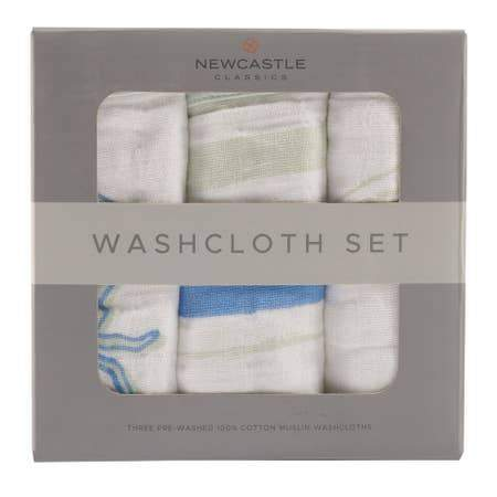 Newcastle Classics Ocean Washcloth Set Towels 22