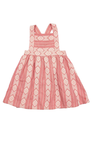 Pink Chicken Willa Dress Dresses 3y Dusty Rose Mauveglow