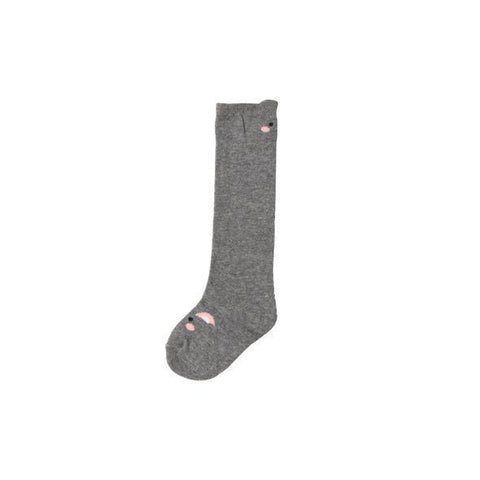 Summer in May Animal Socks Grey Socks 3-6y Grey