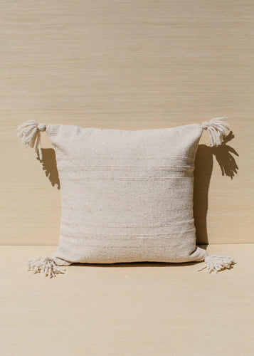 Territory Puro Wool Cream Pillow Cover Pillow Covers
