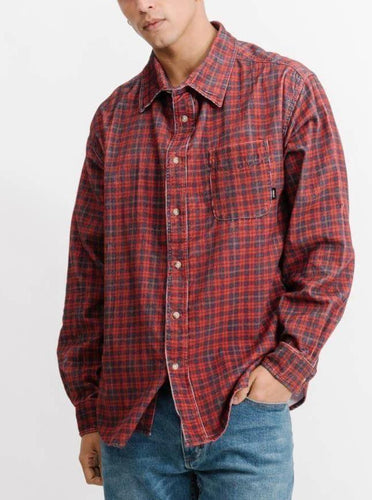 Thrills Brunswick Oversized Long Sleeve Shirt Casual Shirt