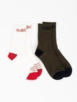Thrills Service Sock 2 Pack Socks