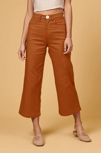 Whimsy + Row Flora Pants Pants 25 Rust