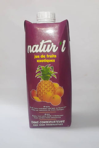 Jus naturel de fruit exotique