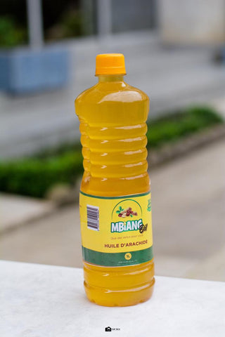 Mbiang peanut oil available from La Mater Services