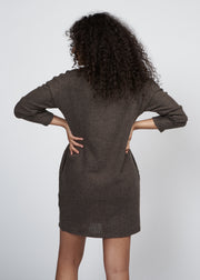 JOSLIN SWEATER DRESS, OLIVE