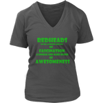 Womens V-Neck Redhead - Akinwumi Consulting Services