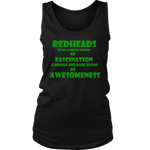 Womens Tank Redhead - Akinwumi Consulting Services