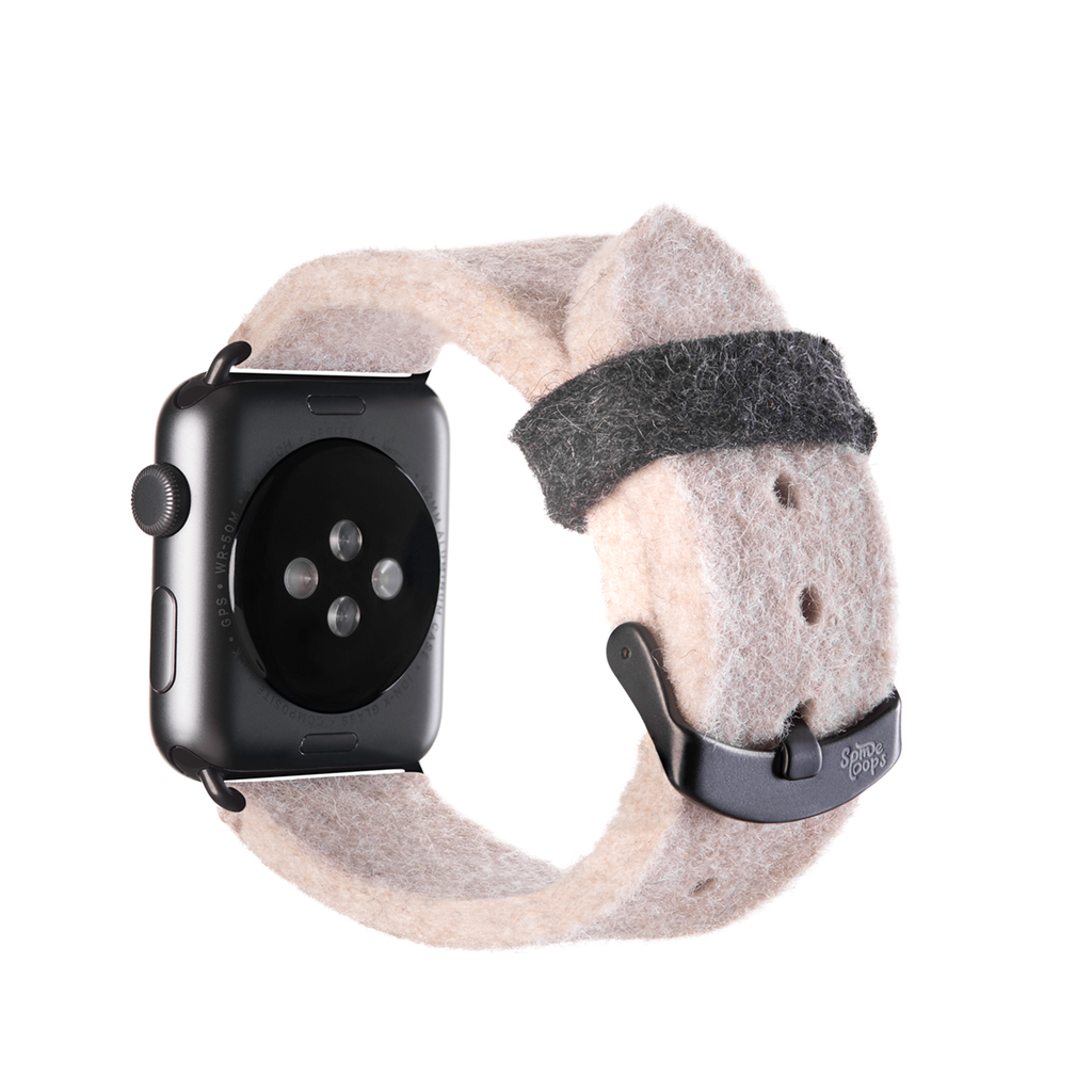 Beige Apple Watch Band