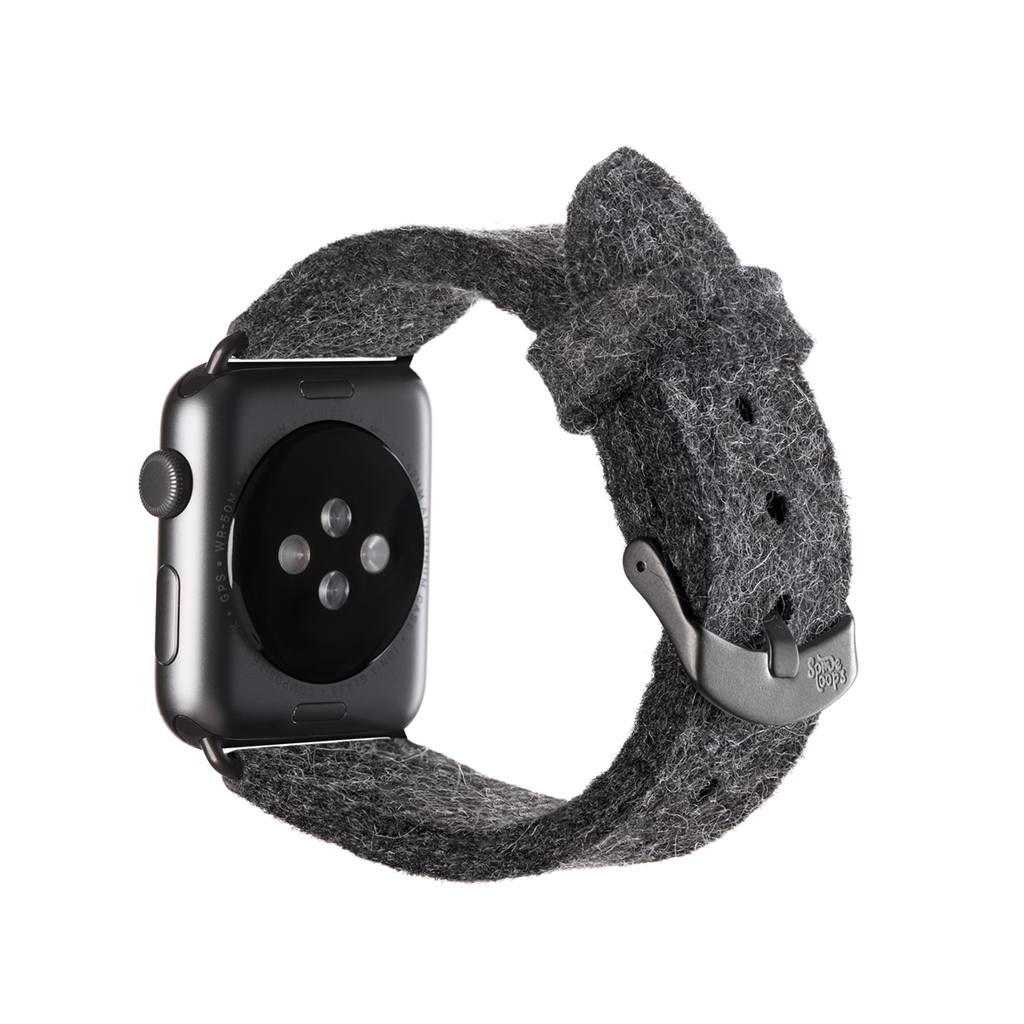 Grey Apple Watch Band
