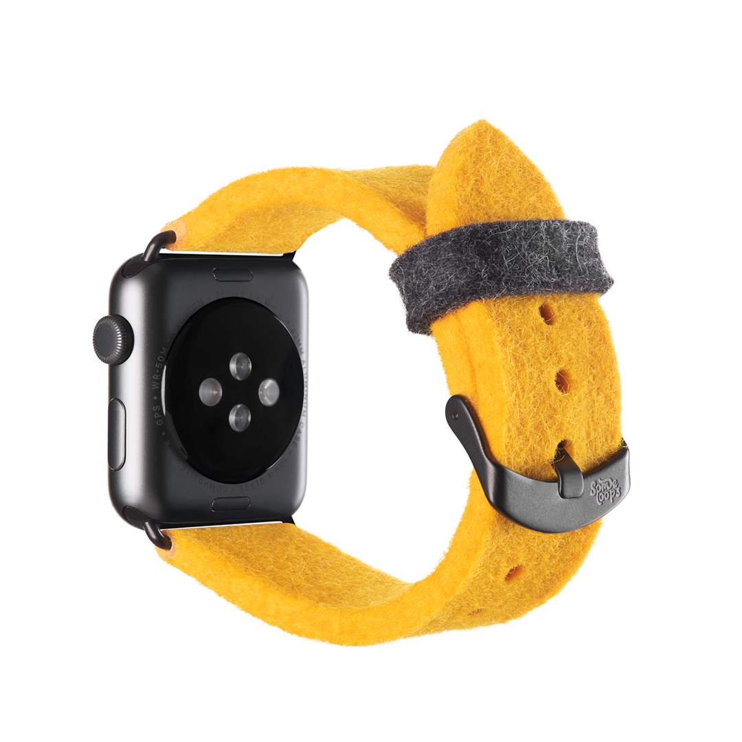 Yellow Apple Watch Band