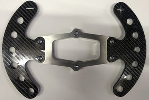 Carbon fibre paddleshift assembly