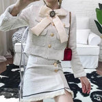 Off white 2 piece Set Women stylish Suit Set-item name- Monica