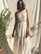 Load image into Gallery viewer, Cream Sheer Lace Dress