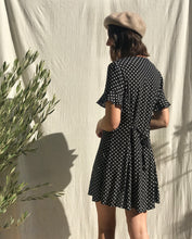 Load image into Gallery viewer, Polka Dot Mini Dress