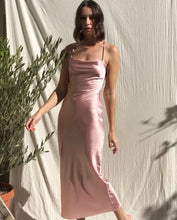 Load image into Gallery viewer, Pink Slip Dress