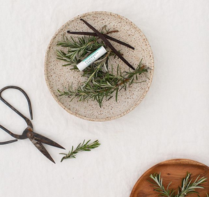 Rosemary + Vanilla Lip balm