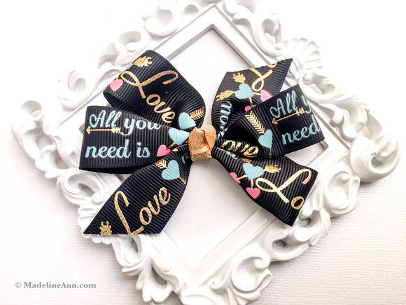 Ribbon Pinwheels ~ All You Need Is Love
