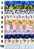 Ribbon Lanyards: Characters/Animals/Sports