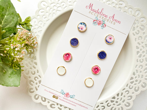 Midnight Blue Earring Collection