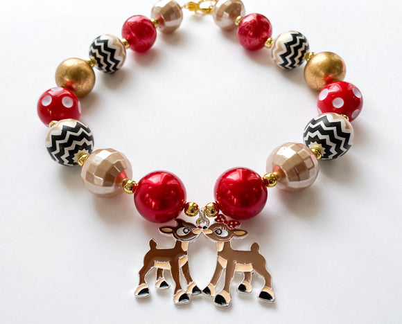 Reindeer - Full Necklace Option