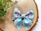 "Springtime ~ 4"" Sailor Bow"