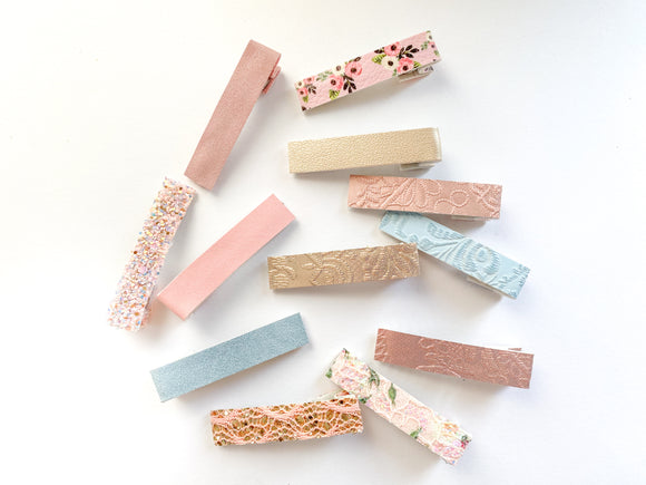 Blushing  Bar Clip Collection