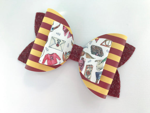 Gryffindor Double Layer Maddie Bow