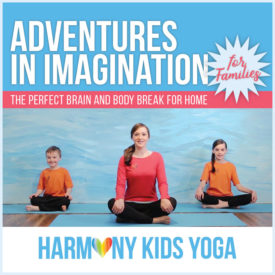 Yoga Video Series For Families ***During Covid19***50% of all sales go to Kids Backpack Breakfast Program