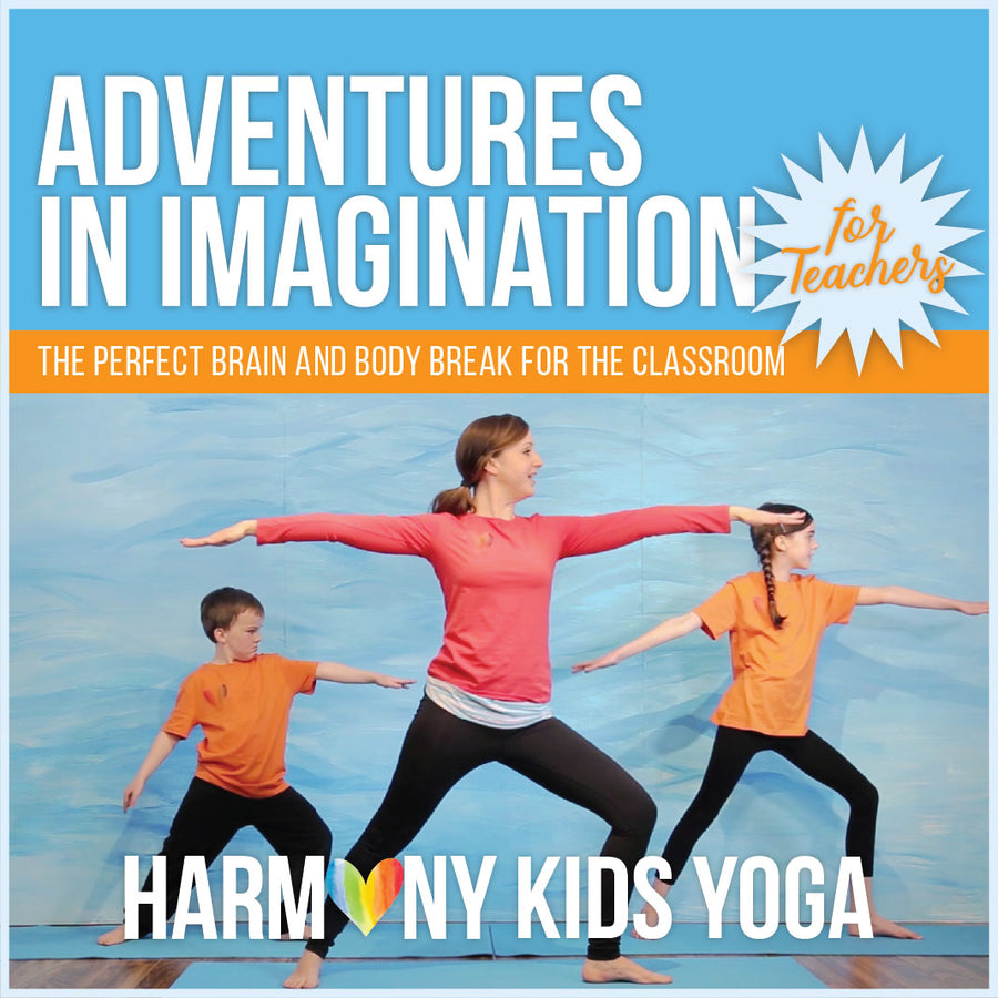 Yoga Video Series For Teachers ***During Covid19***50% of all sales go to Kids Backpack Breakfast Program