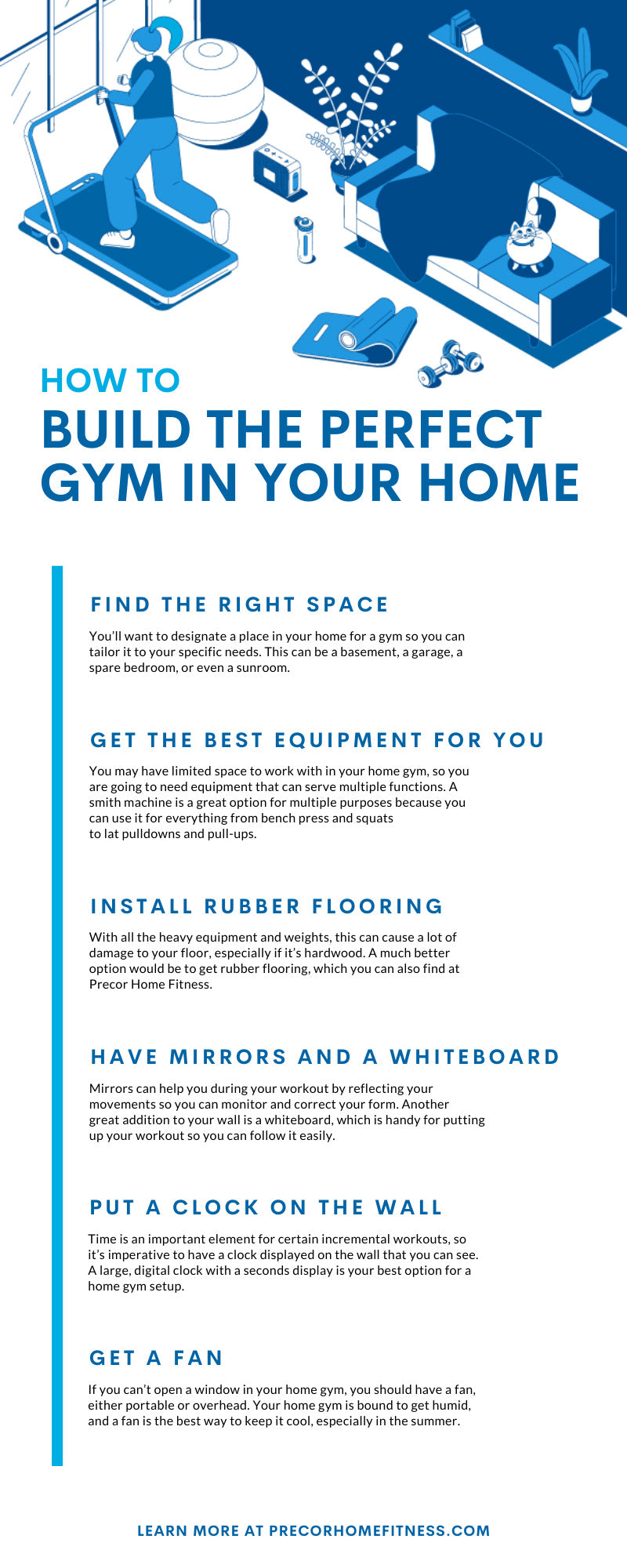 How to Build the Perfect Gym in Your Home