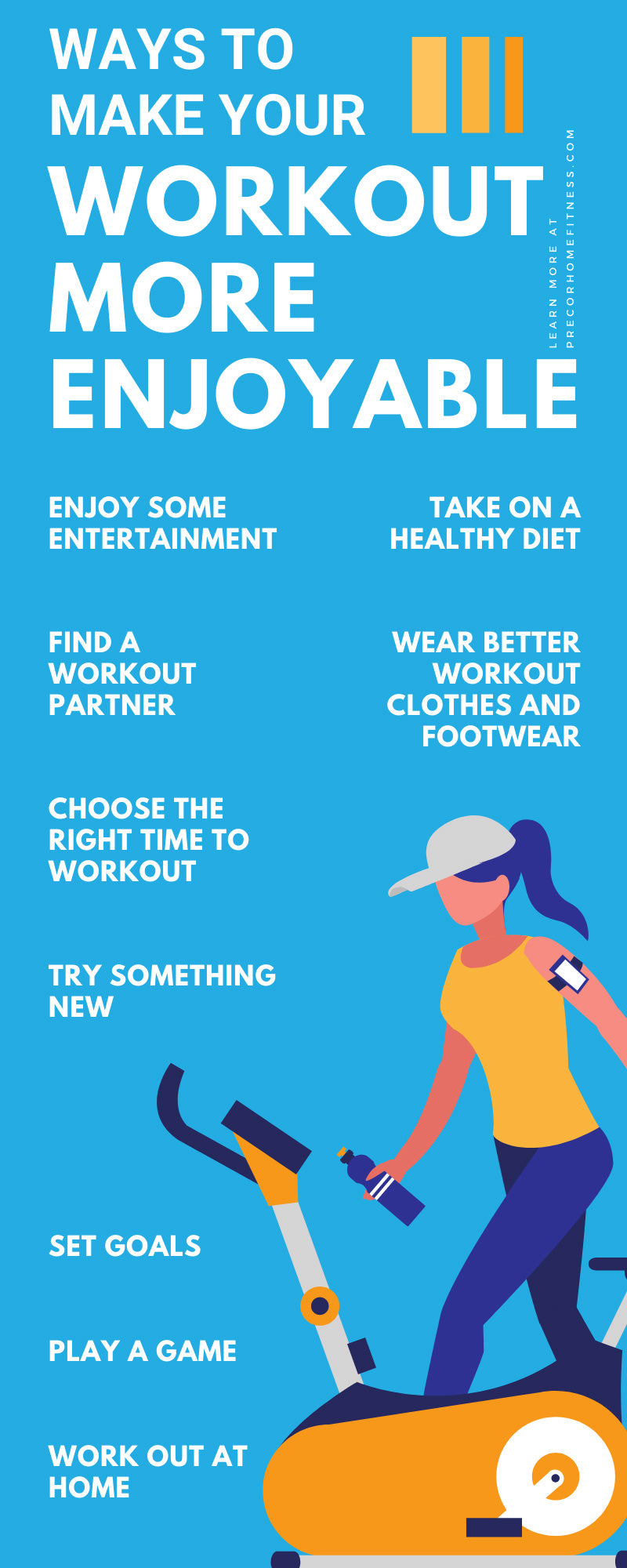 Ways To Make Your Workout More Enjoyable