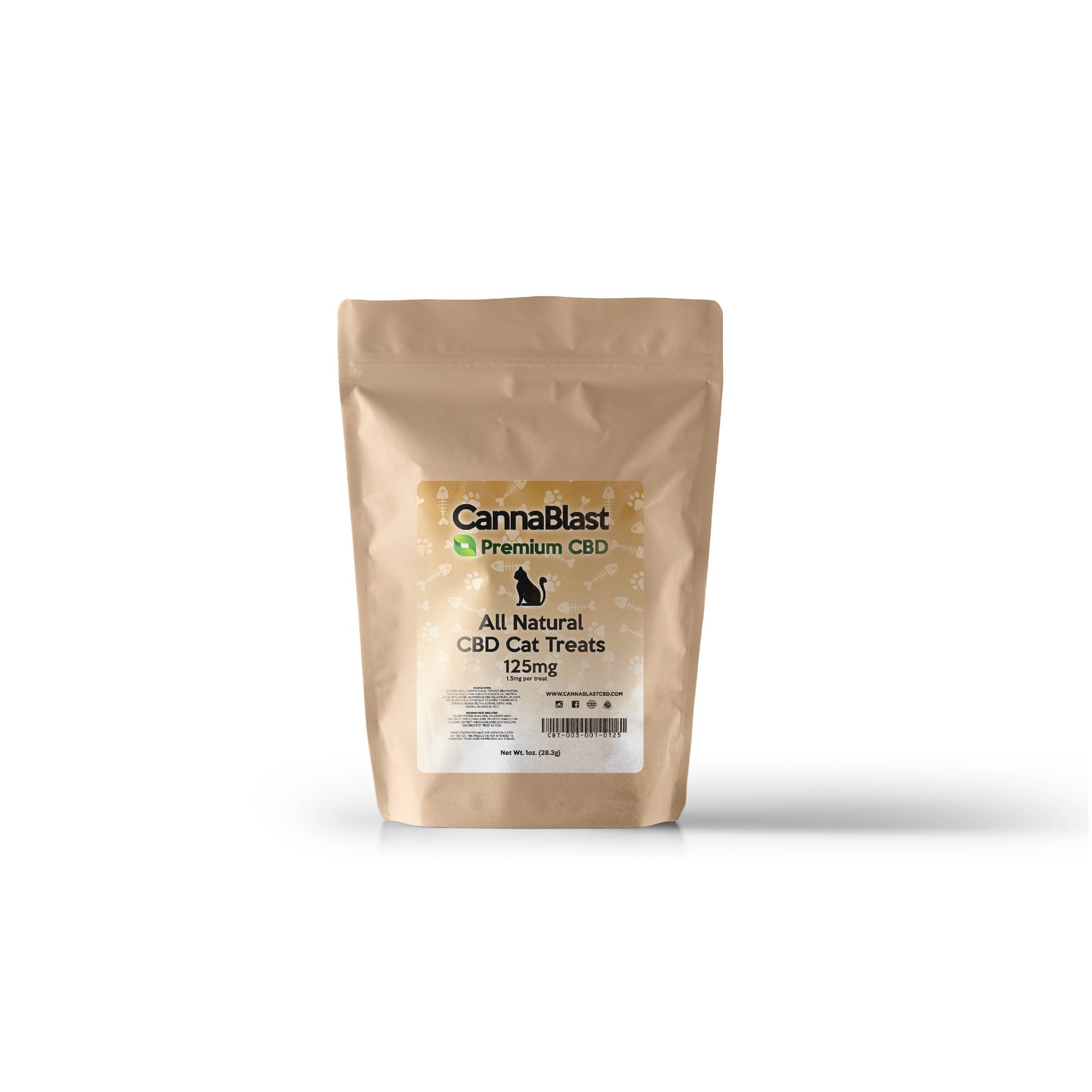 Cannablast Premium CBD All Natural CBD Cat Treats