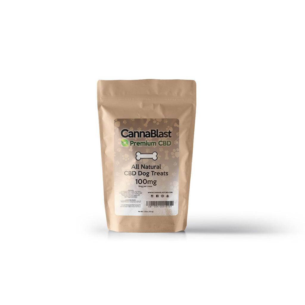 Cannablast Premium CBD All Natural CBD Dog Treats