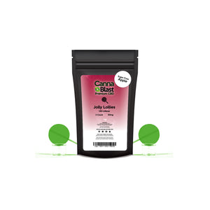 Cannablast Premium CBD 2-pack 50mg Jolly Lollies Lollipops (Apple) - Cannablast Premium CBD