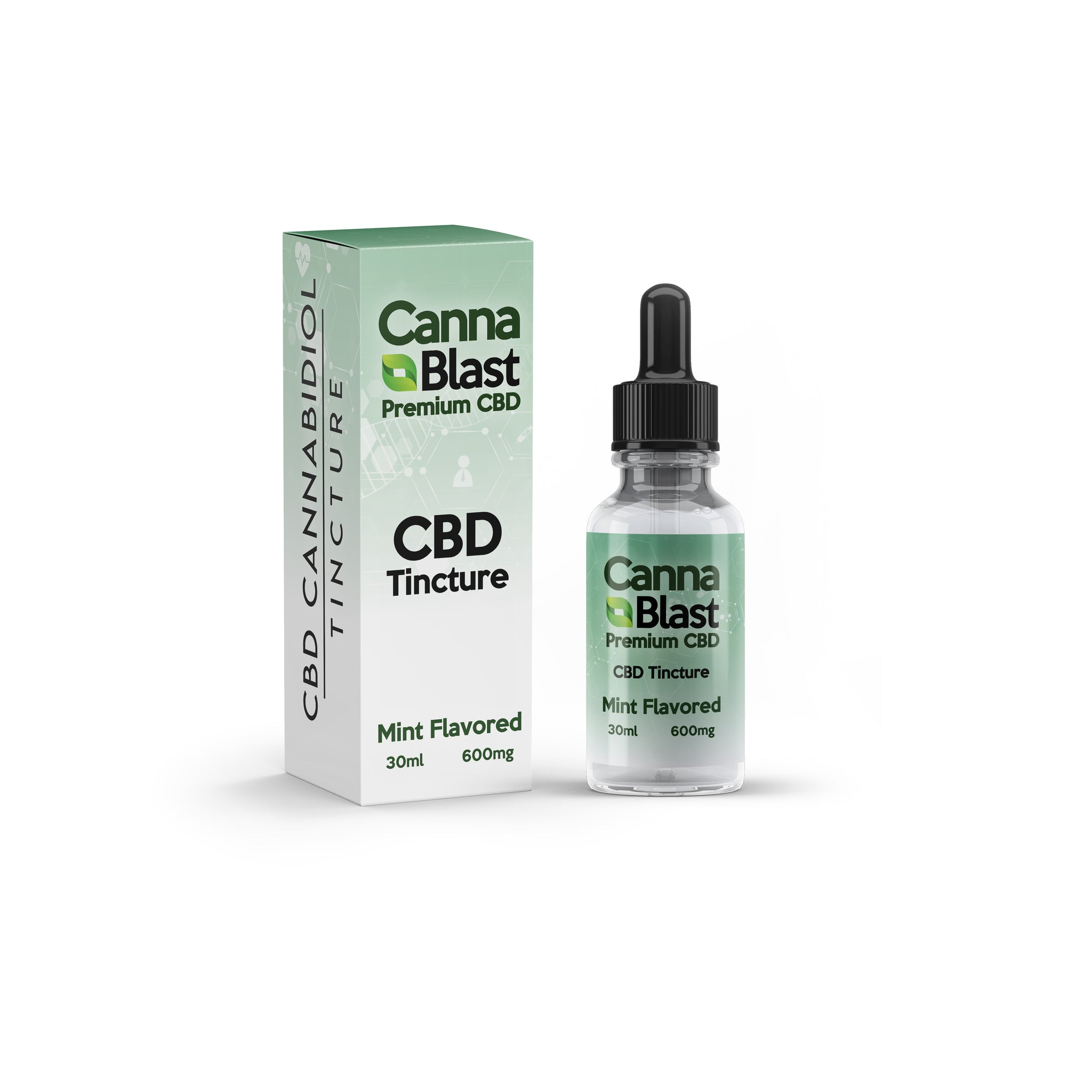 30ml Cannablast Premium CBD Tinctures (Mint Flavor)