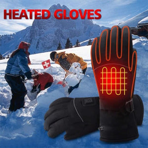Electric Battery Heating Gloves Adjustable Temperature for Men/Women