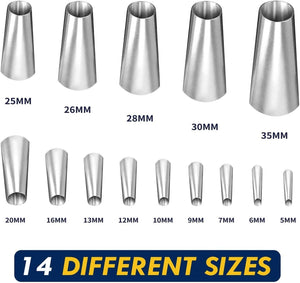 Stainless Steel Sealing Nozzle (14pcs)
