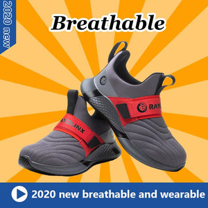 Lightweight Slip-Resistant Safety Shoes with Steel